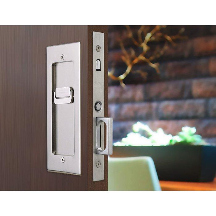 Door Accessories Modern Rectangular Privacy Pocket Door