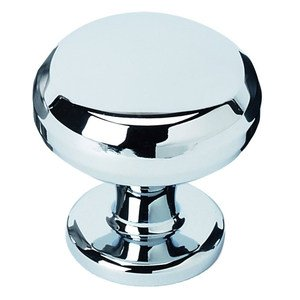 """Alno Inc. Creations Solid Brass 1"""" Knob in Polished Chrome"""