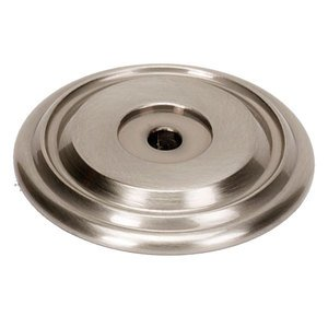 """Alno Inc. Creations Solid Brass 1 5/8"""" Rosette in Satin Nickel"""