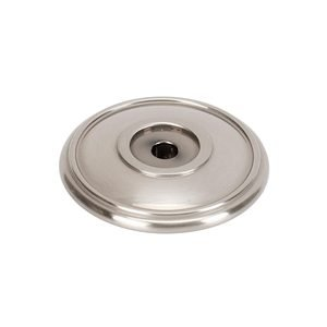 """Alno Inc. Creations Solid Brass 1 3/8"""" Rosette in Satin Nickel"""