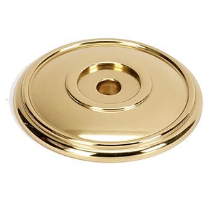 """Alno Inc. Creations Solid Brass 1 5/8"""" Rosette in Polished Brass"""