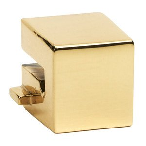 """Alno Inc. Creations Small Square Mount for Rings 1 1/2"""", 2"""", 2 1/2"""" in Polished Brass"""