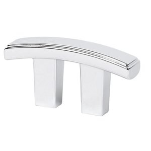 """Alno Inc. Creations Solid Brass 3/4"""" Centers Pull in Polished Chrome"""