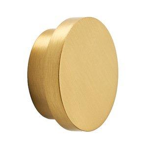 "Alno Inc. Creations 1 3/8"" Diameter Knob in Satin Brass"