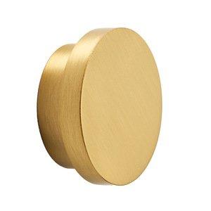 "Alno Inc. Creations 1 3/4"" Diameter Knob in Satin Brass"