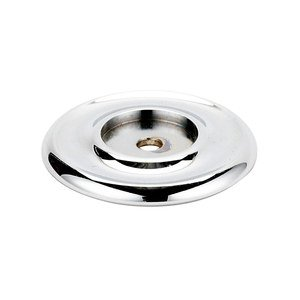 """Alno Inc. Creations Solid Brass 1 1/4"""" Recessed Backplate for A817-14 and A1151 in Polished Chrome"""
