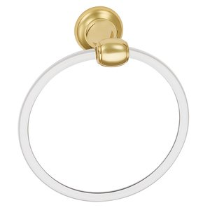 Alno Inc. Creations Towel Ring in Polished Brass