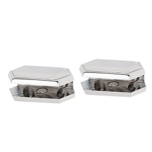 Alno Inc. Creations Shelf Brackets Only (priced per pair) in Polished Nickel