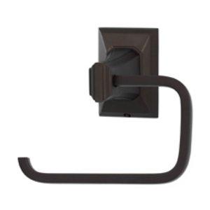 Alno Inc. Creations Single Post Tissue Holder in Chocolate Bronze