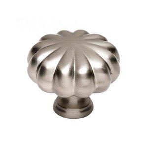 "Alno Inc. Creations Solid Brass 1 1/4"" Knob in Satin Nickel"