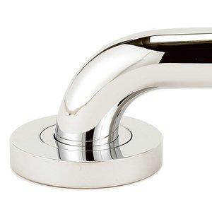 "Alno Inc. Creations Solid Brass 24"" ADA Grab Bar in Polished Nickel"