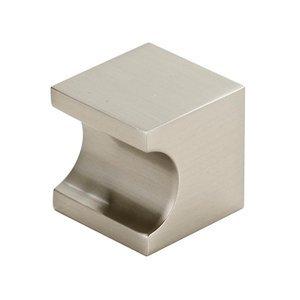 "Alno Inc. Creations Solid Brass 3/4"" Knob in Satin Nickel"