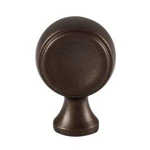 "Alno Inc. Creations 7/8"" Knob in Chocolate Bronze"