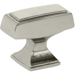 "Amerock 1 1/2"" Oversized Knob in Polished Nickel"