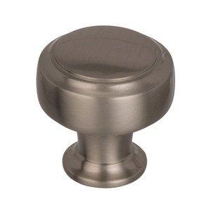 "Amerock 1 3/16"" Diameter Cabinet Knob in Satin Nickel"