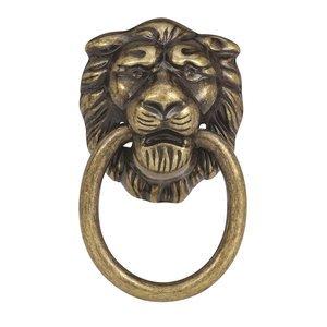 """Amerock 1 1/4"""" Allison Lion Knob in Antique Brass"""