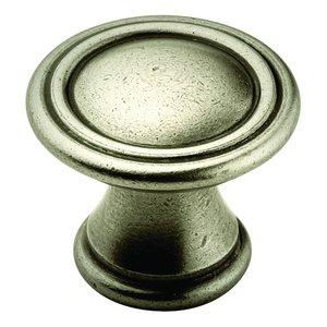 """Amerock Antique Nickel Knob 1 3/16"""""""