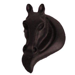 LW Designs Stallion Horse Head Knob (Right) in Bronze with Copper Wash