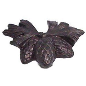 Anne at Home Pine Cone Cluster Knob in Pewter Matte