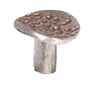 LW Designs Franco Knob in Pewter with Maple Wash
