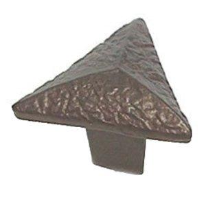 LW Designs Sahara Triangle Knob in Pewter Matte