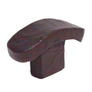 LW Designs Stucco Knob F in Antique Copper