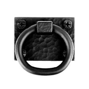 "Acorn MFG 2"" Exterior Ring Pull in Black"