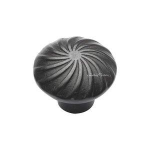 """Ashley Norton Hardware 1 1/2"""" Wheel Knob in Dark Bronze"""