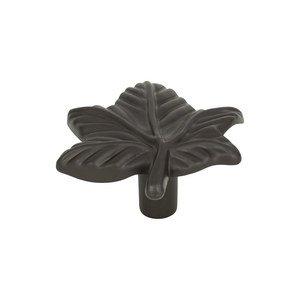 Atlas Homewares Leaf Knob in Aged Bronze