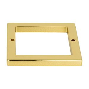 """Atlas Homewares 2 1/2"""" Centers Square Base In French Gold"""