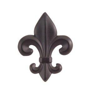 Atlas Homewares Fleur de Lis Knob in Aged Bronze