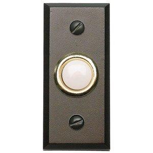 Atlas Homewares Button Door Bell in Oil Rubbed Bronze