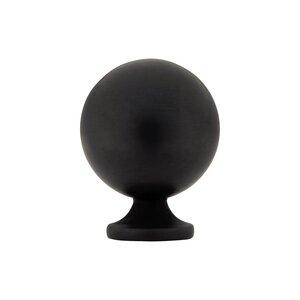 "Baldwin Hardware 1"" Diameter Spherical Knob in Oil Rubbed Bronze"