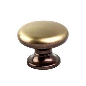 "Berenson Hardware 1 3/8"" Diameter Classic Comfort Large Knob in Brushed Bronze"