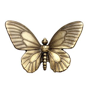 Big Sky Hardware Butterfly Knob in Antique Brass