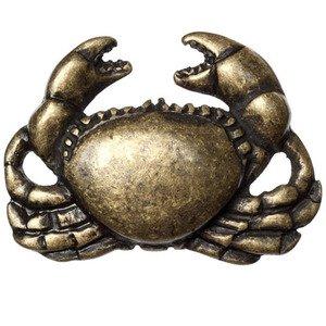 Big Sky Hardware Crab Knob in Antique Brass