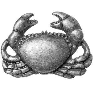 Big Sky Hardware Crab Knob in Pewter