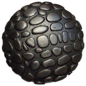 """Big Sky Hardware 1 1/4"""" Diameter Crocodile Round Knob in Oil Rubbed Bronze"""