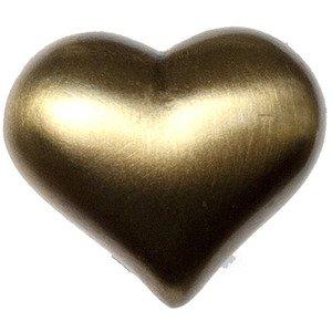 Big Sky Hardware Large Heart Knob in Antique Brass