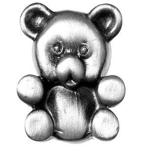 Big Sky Hardware Teddy Bear Knob in Pewter