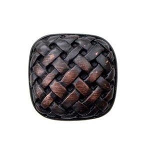 Big Sky Hardware Basket Weave Knob in Oil Rubbed Bronze