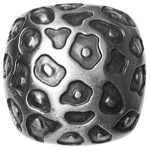 Big Sky Hardware Leopard Print Knob in Pewter