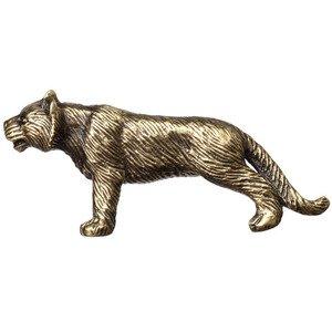 Big Sky Hardware Mountain Lion Knob in Antique Brass
