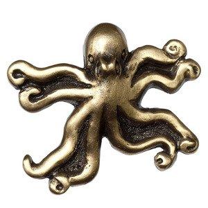 Big Sky Hardware Octopus Knob in Antique Brass