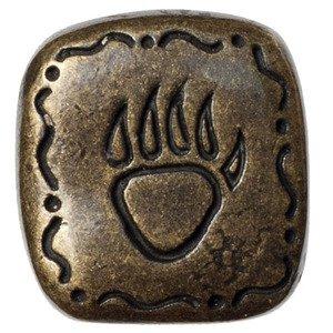 Big Sky Hardware Southwest Bear Claw Knob in Antique Brass