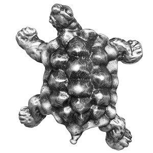 Big Sky Hardware Turtle Knob in Pewter