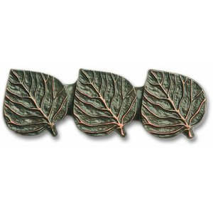 Novelty Custom Hardware - Leaves and Trees Collection - Triple Leaf Pull