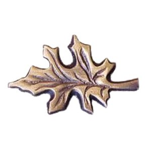 Novelty Custom Hardware - Leaves and Trees Collection - Oak Leaf Knob
