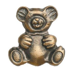 Novelty Custom Hardware - Childrens Collection - Teddy Bear Knob