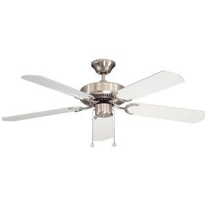 """Canarm 52"""" Ceiling Fan in Brushed Pewter"""